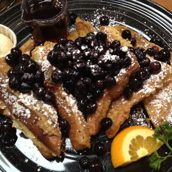 Blueberry Waffles @ Los Gatos Cafe Uptown