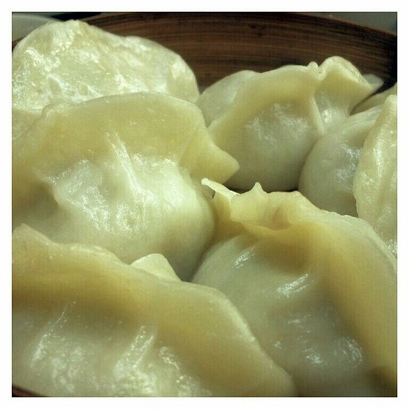 Steamed Hand Made Dumplings With Beef And Chives @ Sea Bay Hand Made Noodle Restaurant