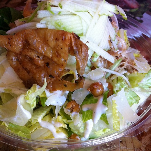 granny smith chicken caesar salad @ Come And Get It 416