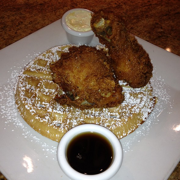 Chicken and Waffles @ Harry's Smokehouse Burgers & Bbq