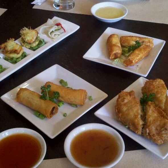Spring Rolls And Egg Rolls