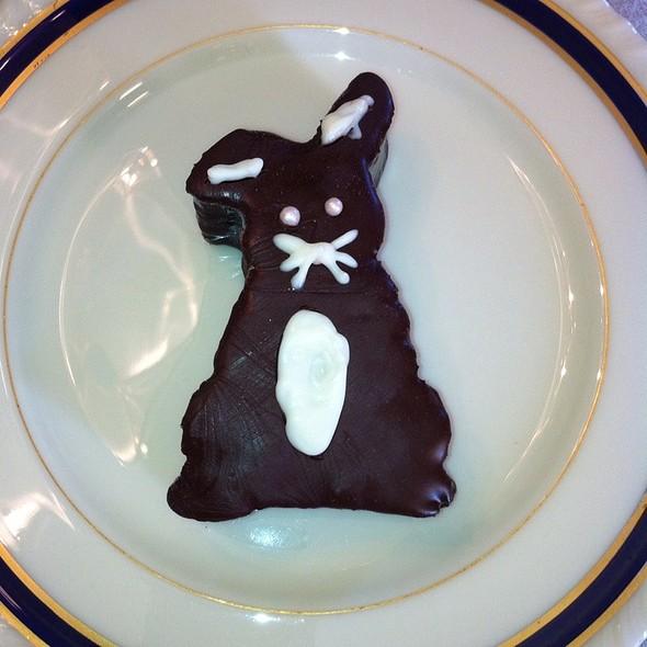Molten chocolate bunny cake @ Leonora Bakery