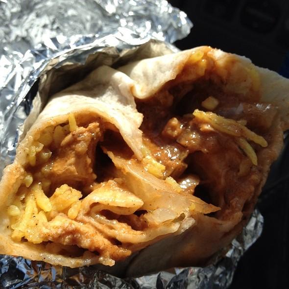 Chicken Tikka Masala Burrito @ Curry Up Now Restaurant & Truck
