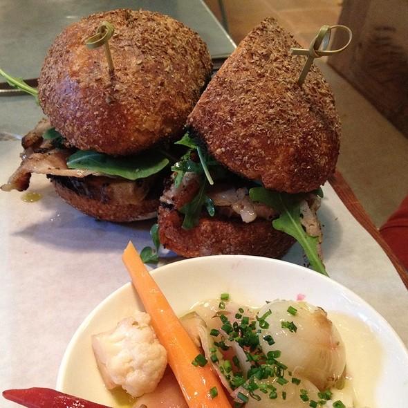 Porchetta Sandwich @ il buco alimentari & vineria