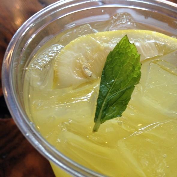 Pineapple Agua Fresca @ C Casa
