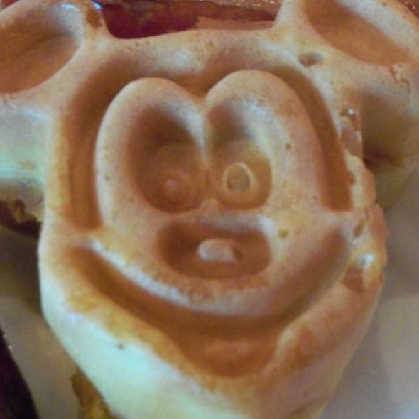 Mickey Mouse Waffles @ Walt Disney World Resort
