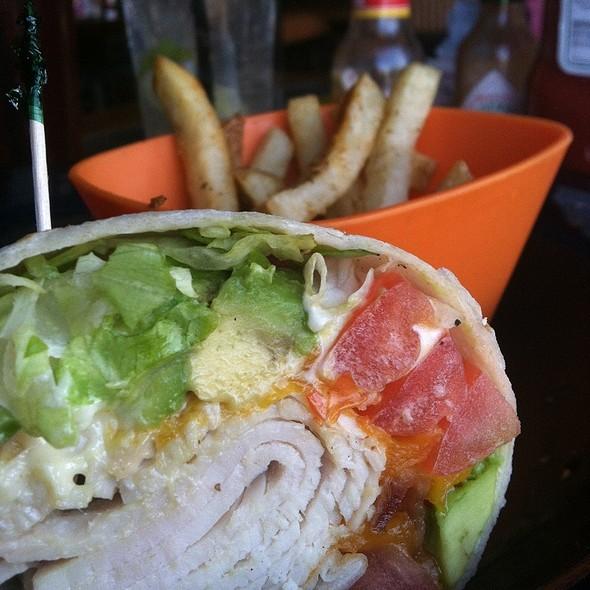 Turkey Melt Wrap @ Hamburger Mary's Bar & Grille