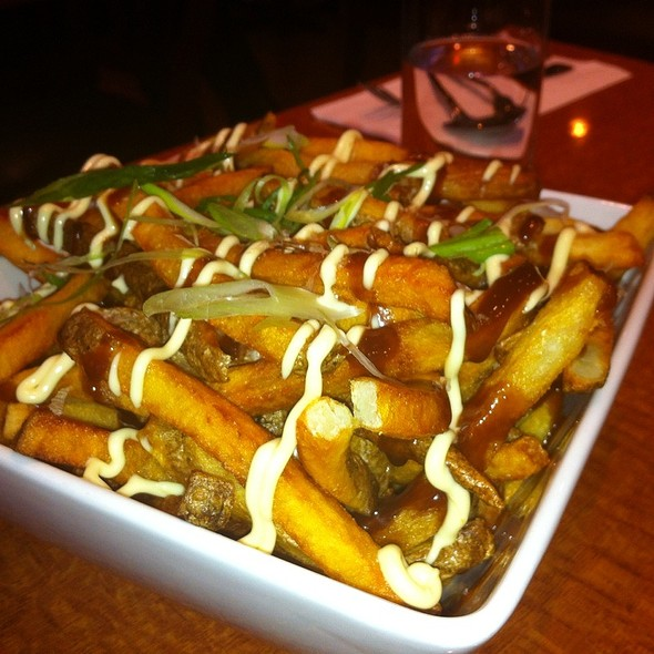 Okonomiyaki Fries @ Shiso Tree Cafe