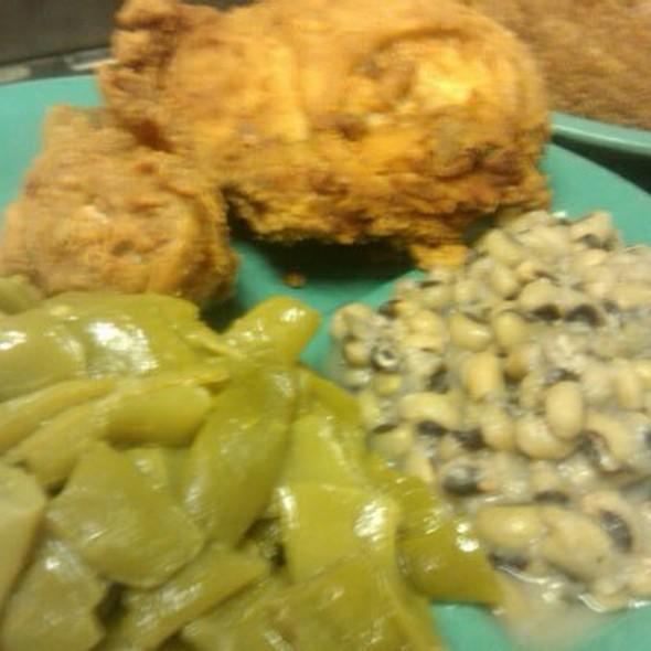 fried chicken @ Martin's Restaurant