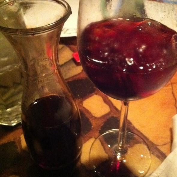 blackberry sangria @ Carraba's Italian Grill