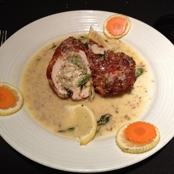 Stuffed Chicken Breast @ Gentiles Restaurant