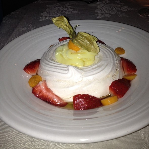 Baked Meringue - Bistecca Italian Steakhouse & Wine Bar, Edmonton, AB