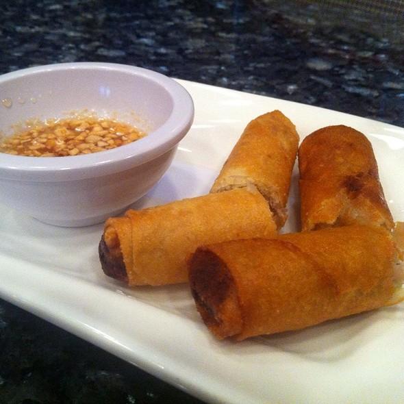 egg rolls @ Mekong Bistro
