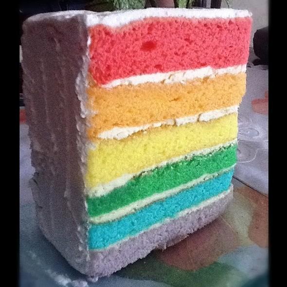 Rainbow cake @ Dapur Cokelat