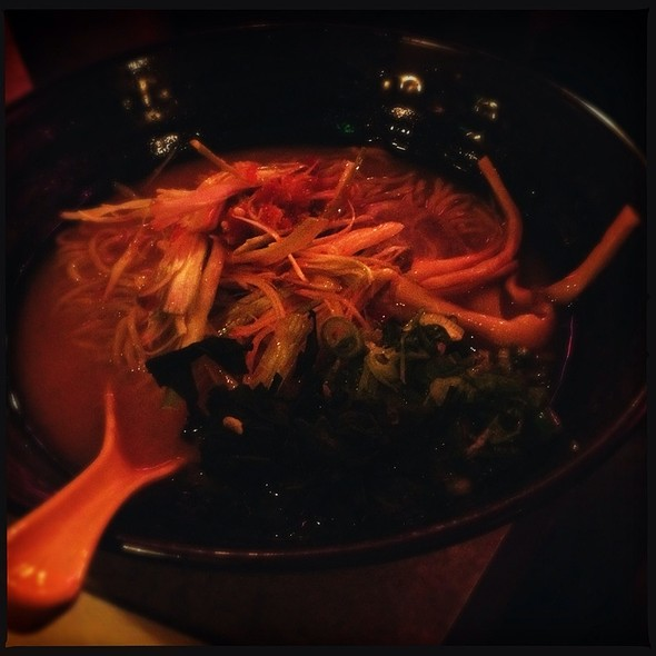 Spicy Green Onion Ramen @ Katana-ya