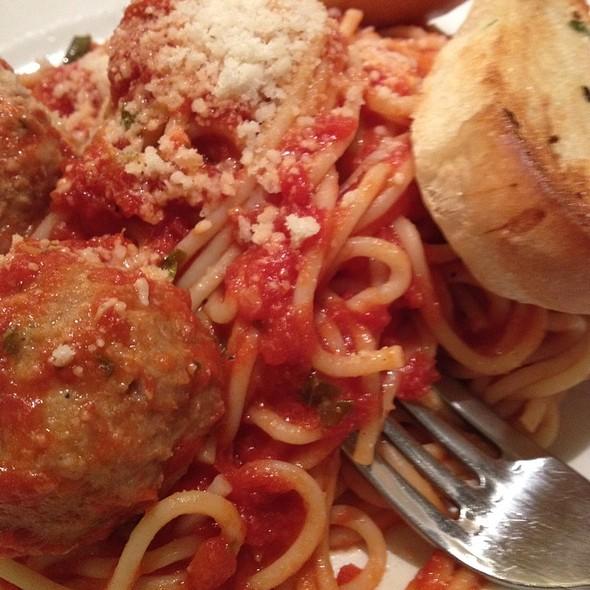 Spaghetti and Meatballs @ Palo Alto Creamery