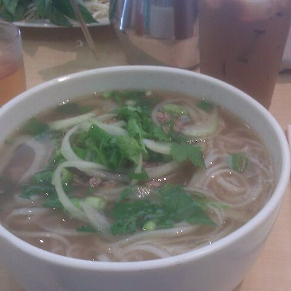 Rare Beef Pho @ Pho An