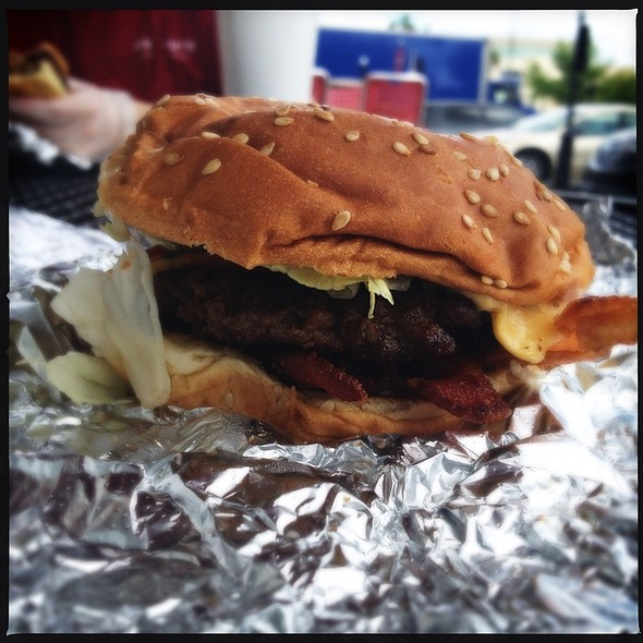 Little Bacon Cheeseburger @ Five Guys Burgers & Fries
