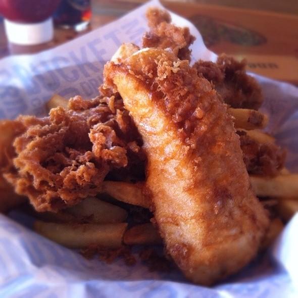 Fish & Chips @ Joe's Crab Shack
