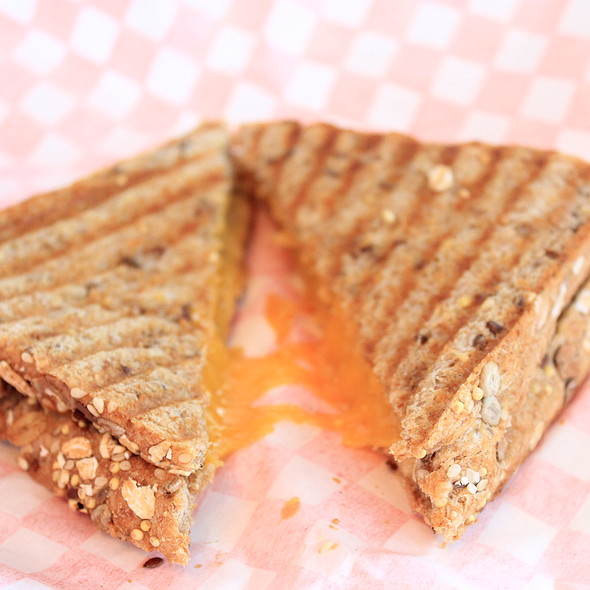 Grilled Cheese Sandwich @ Cool Hand Luc
