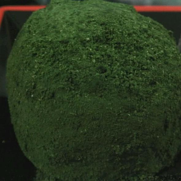 Greentea Karaimo Mochi @ Shirokiya