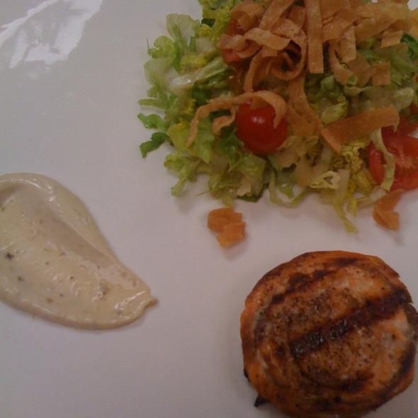 Grilled Salmon Salad @ Royal/T