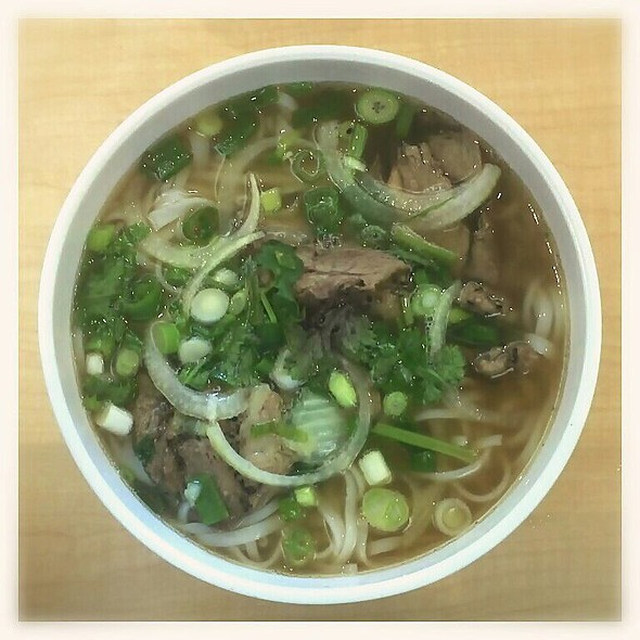 Pho With Beef Roll @ Pho An