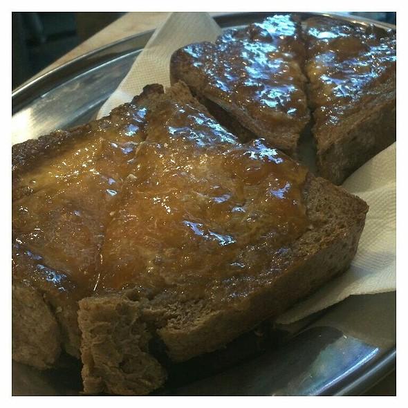 Sourdough Toast With Hank's Jam @ Circa Espresso