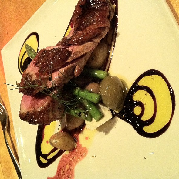 Duck Breast @ Emilitsa Greek Restaurant