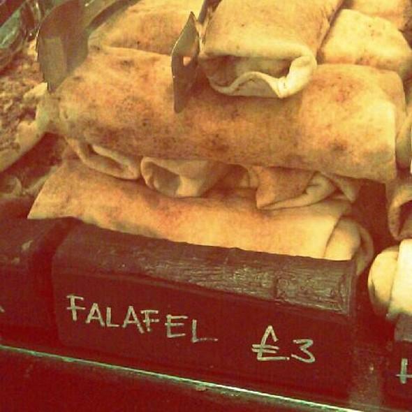 Falafel Wrap @ Yalla Yalla