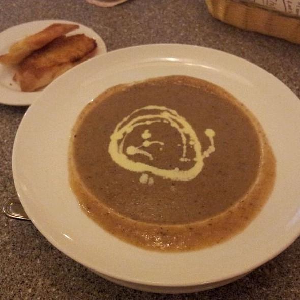 Cream Of Mushroom Soup @ Charcoal BBQ & Grill