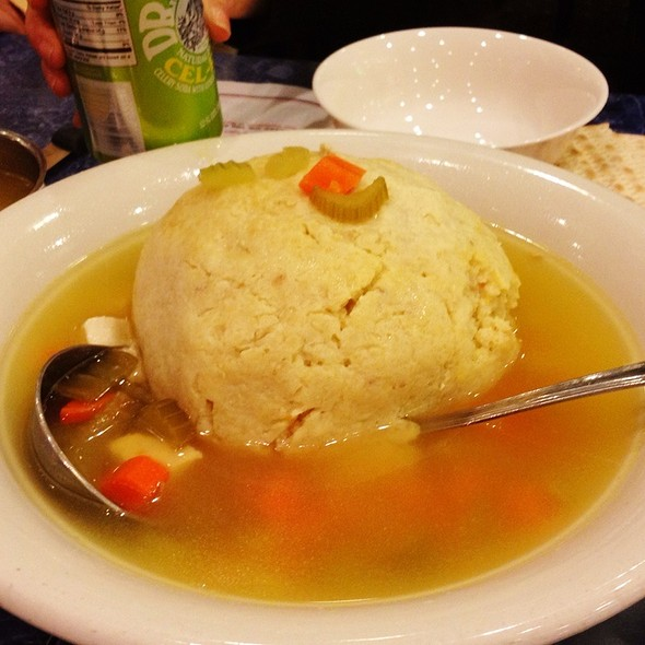 Matzoh Ball Soup @ Harold's New York Deli