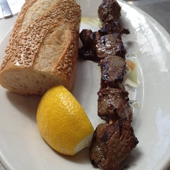Beef Souvlaki @ Zorba's Souvlaki Plus