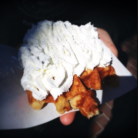 Belgian Waffle @ Waffle Mania - at Wednesday Farmer's Market
