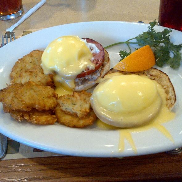 Eggs Benedict @ Ponzio's Restaurant & Bake
