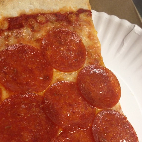 Pepperoni Pizza @ The Tomato Cafe