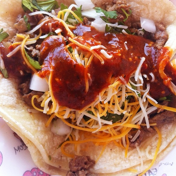 Carne Asada Taco @ Chronic Tacos