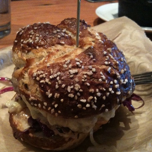 Brat Burger @ Euclid Tavern