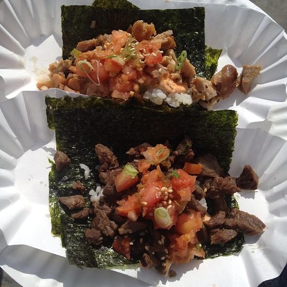 Korean Tacos @ Namu (Ferry Building Farmer's Market)