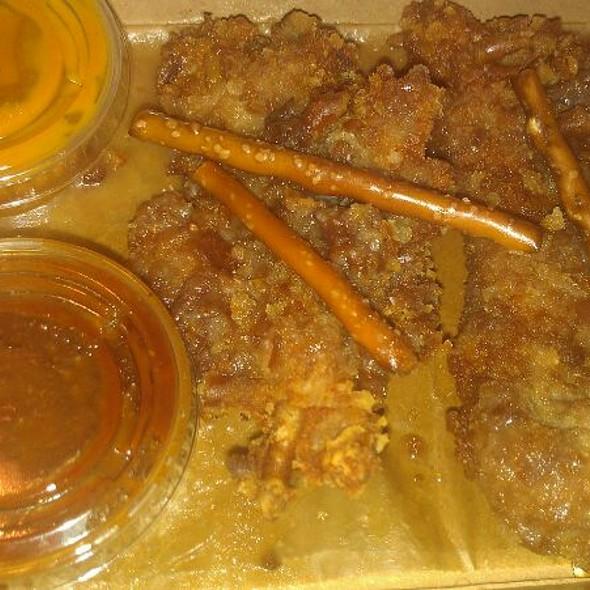Salted Caramel Pretzel Chicken Fingers @ Sticky's Finger Joint