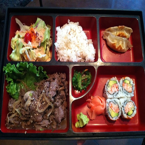 Beef Bulgogi Bento Box @ Sushi Haru