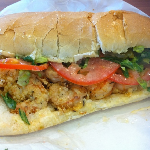 Fried Shrimp Po' Boy @ Where Ya At Matt?