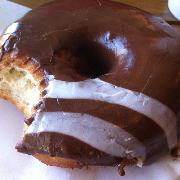 Doughnut With Chocolate And Earl Grey @ Dough