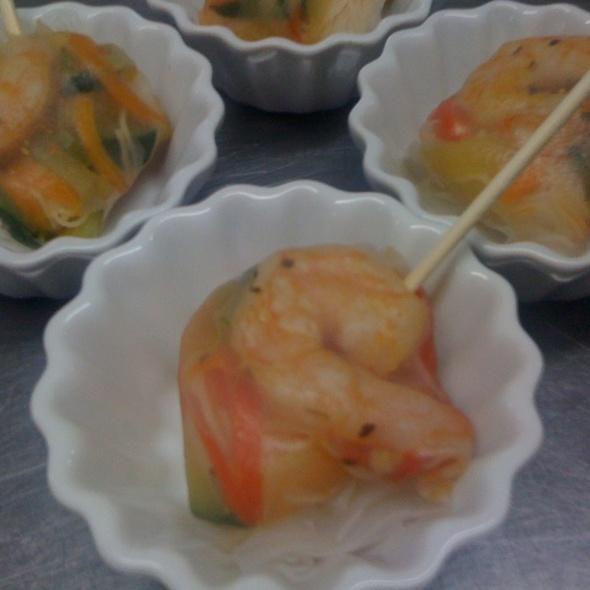 Lumpias De Camaron @ Gourmet X-Perts Catering