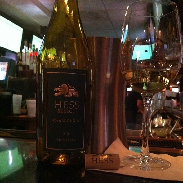 Hess Chardonnay @ Michael's Cafe