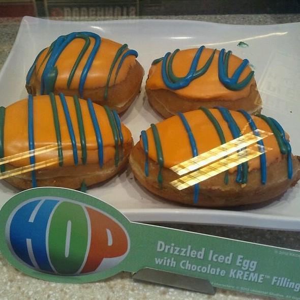 Drizzled Iced Egg  @ Krispy Kreme