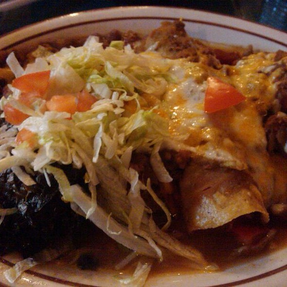 Combination Plate (Tamale, Enchilada, Relleno)