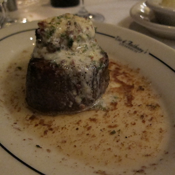 Filet Mignon @ Vic & Anthony's - Houston