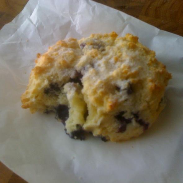 blueberry scone @ Chestnut Bakery