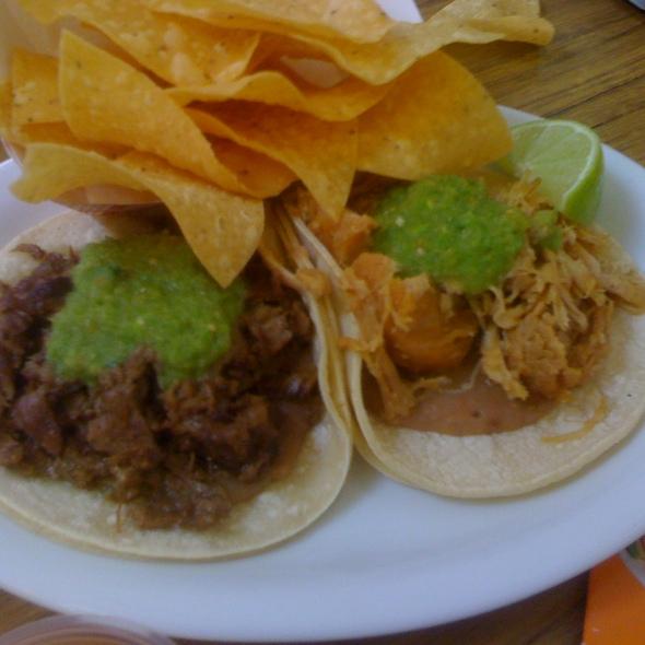 Carne Asada Taco @ Pancho Villa Taqueria